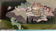 Apple_Bloom Applejack Derpy Fluttershy Lyra My_Little_Pony Pinkie_Pie Rainbow_Dash Scootaloo Sweetie_Belle Twilight_Sparkle rarity // 500x281 // 21.6KB