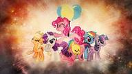 Applejack Fluttershy My_Little_Pony Pinkie_Pie Rainbow_Dash Twilight_Sparkle rarity // 640x360 // 32.5KB