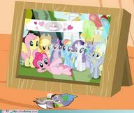 Applejack Derpy Fluttershy My_Little_Pony Pinkie_Pie Rainbow_Dash Spike Twilight_Sparkle rarity // 500x422 // 26.0KB