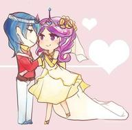 Cadence Humanization My_Little_Pony Prince_Charming // 600x588 // 40.0KB