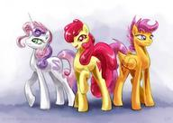 Apple_Bloom My_Little_Pony Scootaloo Sweetie_Belle // 1200x850 // 84.9KB