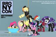 Applejack Fluttershy My_Little_Pony Pinkie_Pie Rainbow_Dash Twilight_Sparkle rarity // 1013x675 // 67.6KB