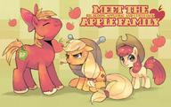 Apple_Bloom Applejack Big_Macintosh My_Little_Pony // 2169x1372 // 202.0KB