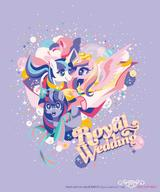 Cadence My_Little_Pony Prince_Charming Twilight_Sparkle // 1000x1200 // 92.3KB